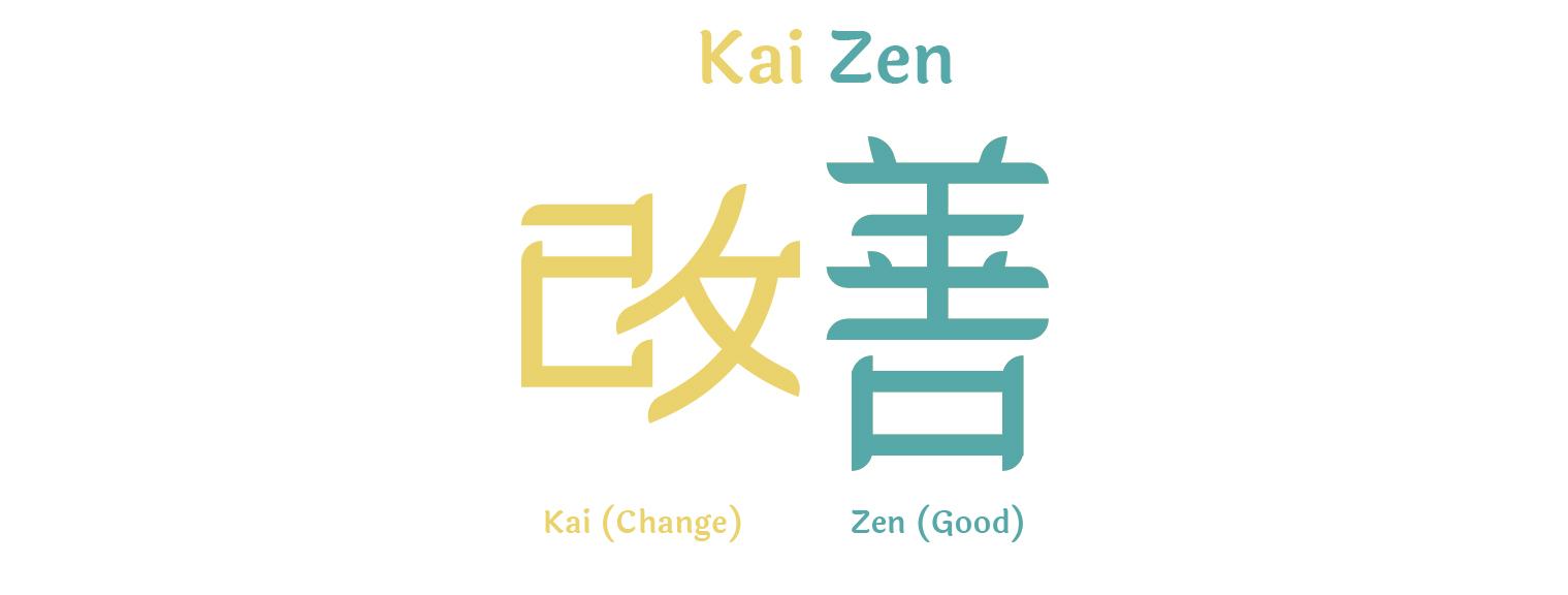 Kaizen hieroglyph