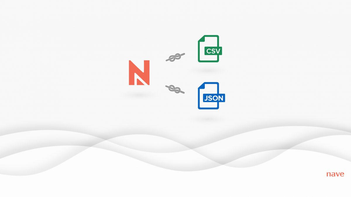 Loading Your Data to Nave